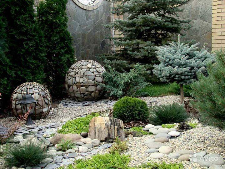Использование камней в ландшафтном дизайне